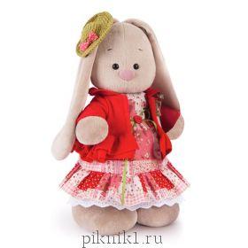 Зайка Ми Маково-красный 25 см и 32 см